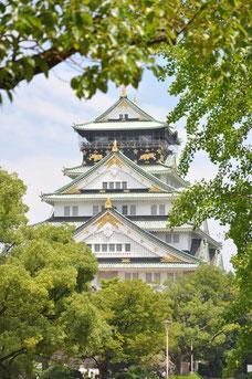 Das Osaka-Schloss