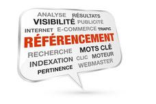 Image représentant différents termes du référencement sur les moteurs de recherche