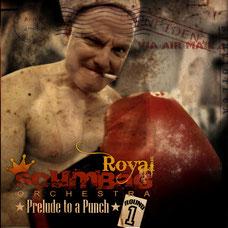 Copertina del nuovo album di música pop e rock di Miki Pannell e Royal Scumbag Orchestra