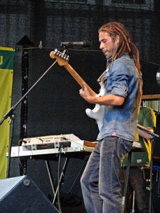 Jahcoustix beim Reggae Jam 2013