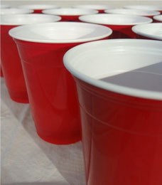 Red Solo Cups Deko