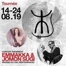 Emmakka & Jomon Sugi - Cedric Bregnard et Emmanuelle Martin