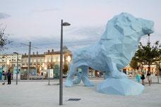 Le Lion, commande publique, Bordeaux