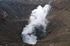 Vulkankraterrand des Mount Bromo