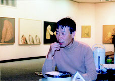 井上肇 煥乎堂 個展 1991年