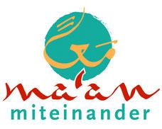 Logo: Ma'an - miteinander