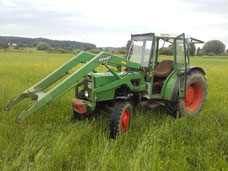 Fendt Farmer 204 P, 65 PS, Bj. 1983
