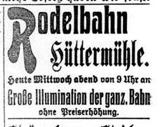 Radeberger Zeitung 24.11.1909