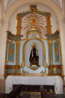 Altar Virgen de los Dolores