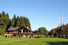 Das Clubhaus im traditionellen bayrischen Stil - © Golfclub Tutzing e.V.