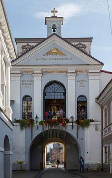 Tor der Morgenroete, Vilnius