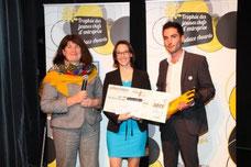 Remise du prix de l'idée et du projet Audace Award