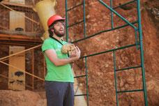 Ausgrabungen in Atapuerca 2010