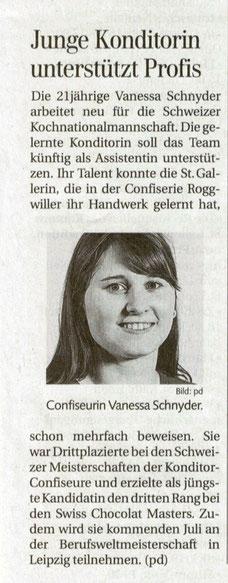 St. Galler Tagblatt vom 19.03.2013
