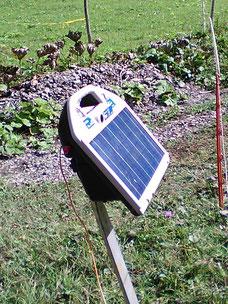 Der solarelektrische Weidezaun ist in viele Fällen alternativlos da die Verwendung von Stacheldraht, auf Grund der die Verletzungsgefahr für Mensch und Tier, als zu groß angesehen wird.