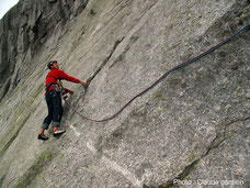 Dalle de granite, aux Aiguilles de Bavella