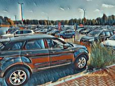 P 3 Parkplatz Flughafen Weeze