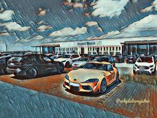 P 1 Parkplatz Flughafen Weeze