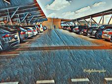 P 2 Parkplatz Flughafen Weeze