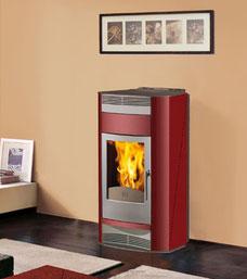 termostufa pellet italiana camini adria