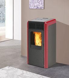 termostufa pellet italiana camini naomy