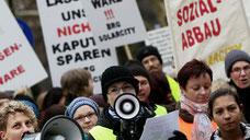 Streik ÖLI-UG und UGÖD