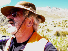 Einfahrt zur Wüstenoase Huancachina