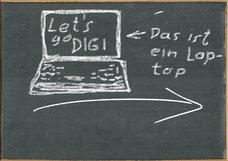 """Erster Teil des """"8-Punkte-Digitalisierungsplans"""" des Bildungsministeriums? Bild:spagra"""