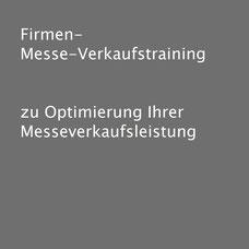 Messetraining und Messeschulungen von Verkaufstrainer Thomas Pelzl durch perfekte Messeplanung