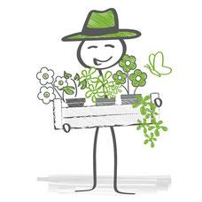 Pflanzen- und Blumenlieferservice