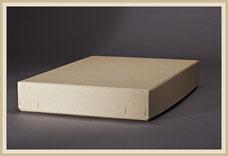 Archiv Karton aus stabiler Pappe geheftet.