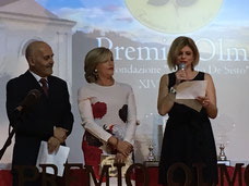 """La premiazione di Se bastasse un momento di gioia, Premio Olmo sezione """"Leggendo Leggendo"""""""