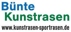 Bünte Kunstrasen-Sportrasen