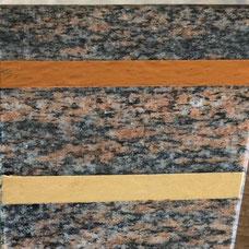 DUROL Schriftfarbe Stein Naturstein Granit Gold Nordland