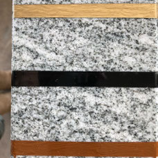 DUROL Schriftfarbe Stein Naturstein Granit Gold White