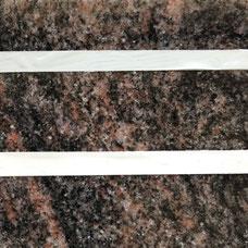 DUROL Schriftfarbe Stein Naturstein Granit grau Impala