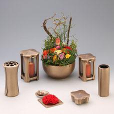 Filthaut Bronzeguss Laterne Vase Schale 3554 555 4524 554 3539 2554 3524