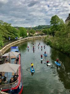 River Avon-Bath, England