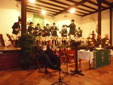 Hubertus Messe des Jagdvereins Hubertus auf Kloster Arnsburg