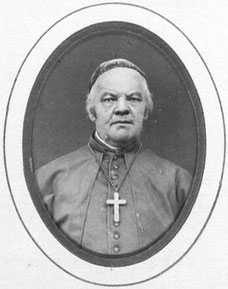 Bischof Eduard Jakob Wedekin, offizielles Foto aus dem Album der Konzilsväter, 1870