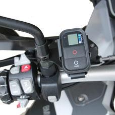 Support caméras sportives BMW R1200R jusqu'à 2014