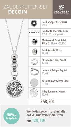Zauberkette dekoster online shop bestellen deCoin Baum des Lebens