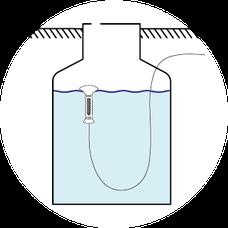 Zisterne, Regenwasser sammeln, rain water collection, ökologischer Fußabdruck