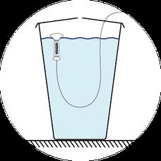 Regentonne, Regentonnenwasser, Wassersparen, sauberes Wasser, Diamantelektrode, boron-doped