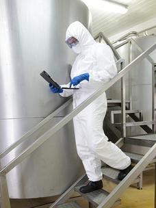 Werkshygiene in der Nahrungsmittelindustrie - operational hygiene in food manufacture - hygiène dans la transformation alimentaire