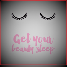 No te olvides de dormir bien