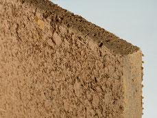 Lehmbauplatten mit Schilf