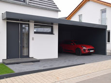Carport Müllbox