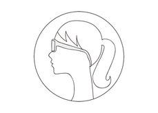 フィットタイプは 女性やロングヘアーの方にオススメ