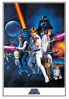 Star Wars Poster Retro